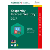 kaspersky Internet Security 2017 Upgrade Box 3x Lizenz
