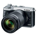 Canon EOS M6 silber mit EF-M 18-150mm 3.5-6.3 IS STM
