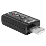 DELOCK - Soundkarte - 24-Bit - 96 kHz - 7,1 - USB2.0 - CM6533 (63926)