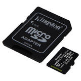128GB Kingston Canvas Select Plus micoSDXC inkl. SD-Adapter