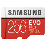 256GB Samsung EVO Plus microSDXC (2020) mit SD Adapter