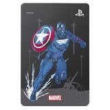 2TB Seagate Game Drive für PS4 Marvel Avengers Captain America (STGD2000206)